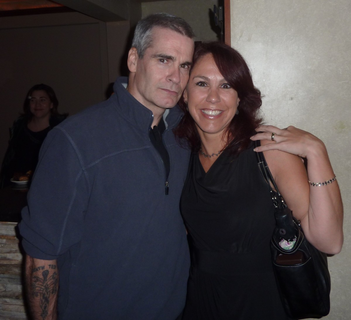 Smile, You're Stalking Henry Rollins