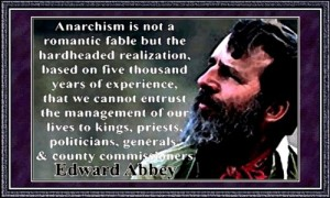 Edward Abbey anarchism