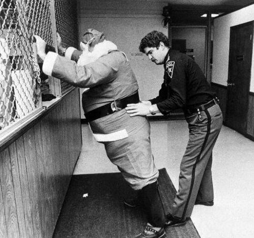 Santa detained