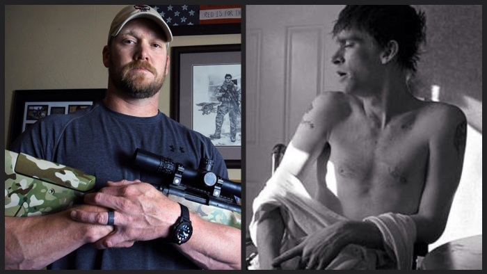 Chris Kyle and Tomas Young