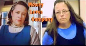 Kim Davis misery loves company
